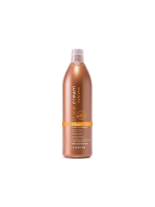 Shampoing hydratant cheveux bouclés et frisés CURL SHAMPOO INEBRYA 1l