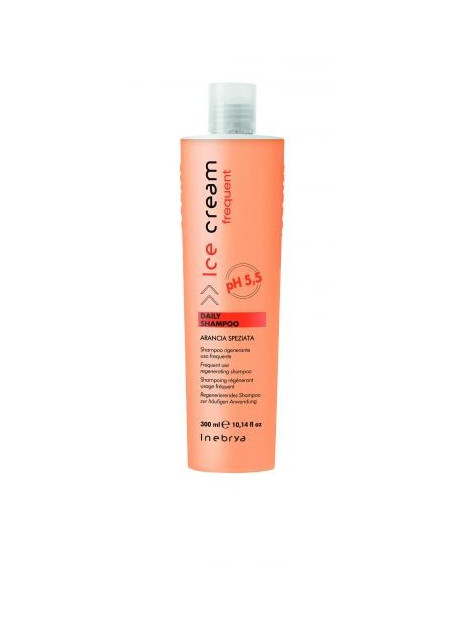 Shampoing régénérant usage fréquent ARANCIA SPEZIATA INEBRYA 300 ml