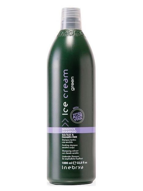 Shampoing calmant cuir chevelu sensible GREEN INEBRYA 1L