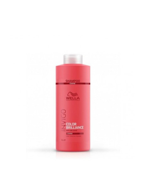 Shampoing couleur cheveux épais Invigo BRILLANCE WELLA 1000 ML