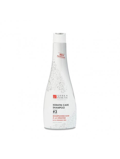 Shampoing à la Kératine 3 Urban Kératin 400 ml