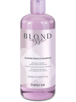 Shampoing BLONDESSE blonde miracle shampoo INEBRYA 1 L