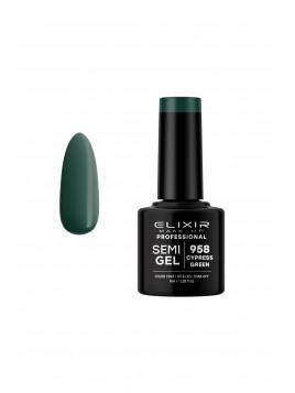 Vernis Semi-Permanent Cypress Green ELIXIR 8 ML