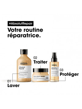 Shampoing Absolut Repair L'ORÉAL PRO routine