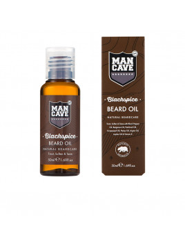 Man Cave Beard Care Blackspice Huile Barbe 50ml